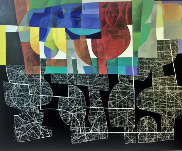 Hossein Khosrojerdi: 120 x 150 cm /Acrylic on Canvas